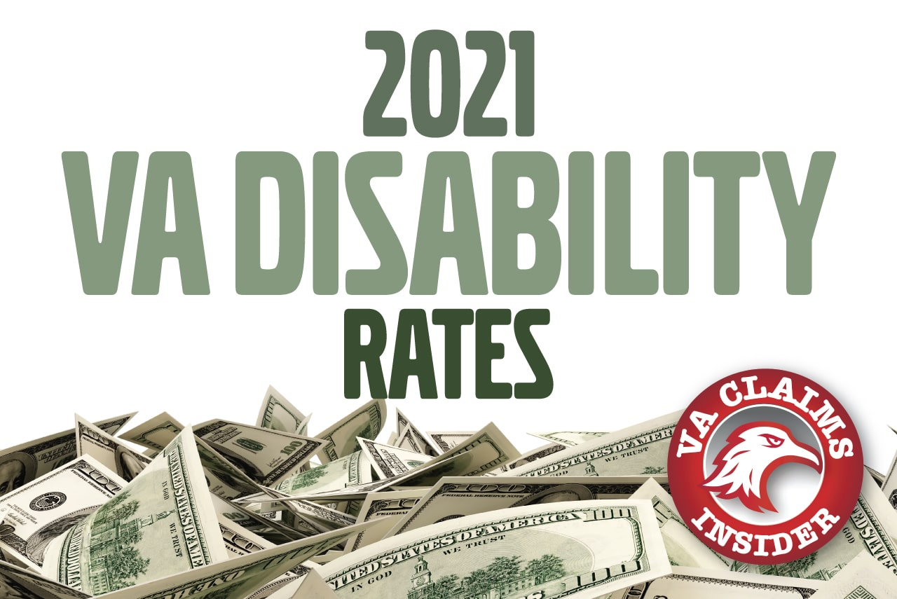 Va Disability Rates 2021 Explained – The Definitive Guide